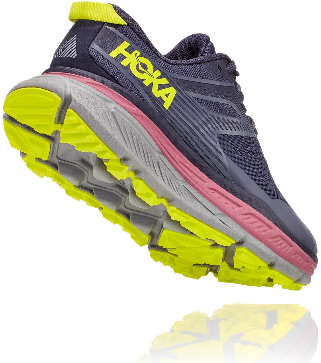 Hoka One One Stinson ATR 6 Scarpe da corsa Donna, deep well/evening primrose su Addnature PLRmv